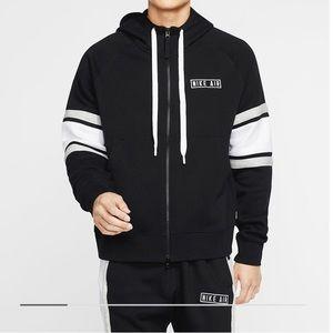 Nike Air men NSW fleece zip up hoodie